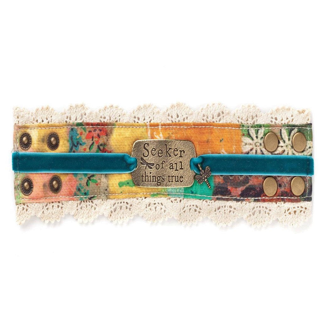 Seeker of All Things True Cuff Bracelet | Kelly Rae Roberts