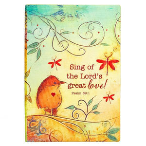 Sing of the Lord's Great Love Christian Journal | Psalm 89:1