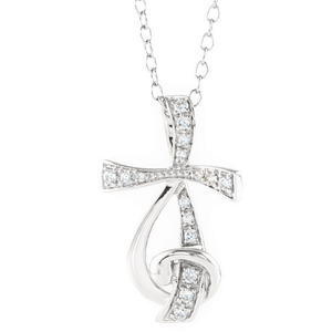 Sterling Silver Cross Necklace | Sing for Joy