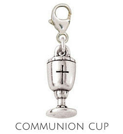 Sterling Silver Charm | First Communion Charm | Coordinates with our Sterling Silver Charm Bracelets