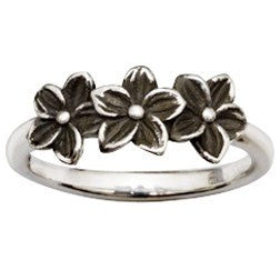 Sterling Silver Ladies' Christian Ring | Grow in Grace