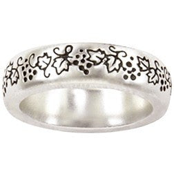 Sterling Silver Ladies' Faith-Based Christian Ring | Vines