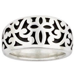 Sterling Silver Ladies' Ring | Ivy Cross