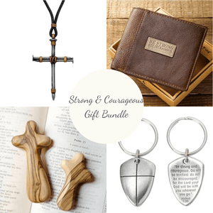 Strong & Courageous Gift Bundle Care Package