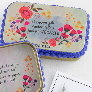 Prayer Box | Just Get Stronger | Natural Life