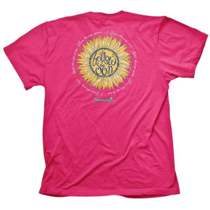Cherished Girl Christian T-Shirt | Sunflower | 2 Corinthians 5:17