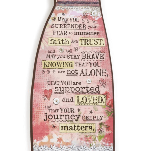Survivor Hanging Angel Wall Art | 12"