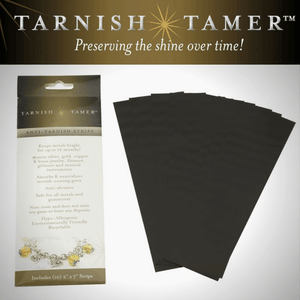 10 Pack Anti-Tarnish Strips | Tarnish Tamer