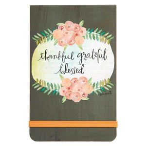 Thankful Grateful Blessed Pocket Notepad