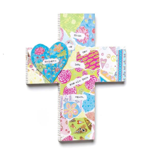 Trust in the Lord Decorative Cross | 16"