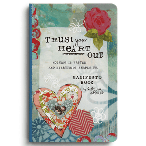 Trust Your Heart Magnet Gift Book | Kelly Rae Roberts