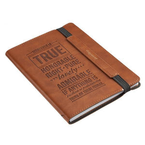 Whatever is True Christian Gratitude Journal | Philippians 4:8