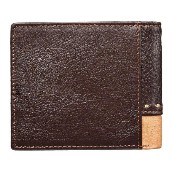On Wings Like Eagles Genuine Leather Men's Wallet | Scripture Verse | Isaiah 40:31