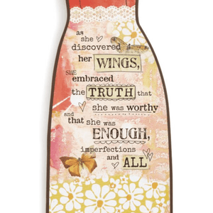 Worthy Hanging Angel Wall Art | 12"
