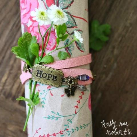 Hope Wrap Bracelet | Kelly Rae Roberts