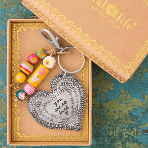 You Are So Loved Keychain |Gift Boxed | Natural Life