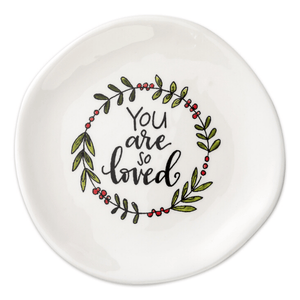 You Are So Loved Jewelry Trinket Dish