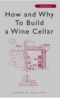 Front cover image for the book How & Why to Build a Wine Cellar