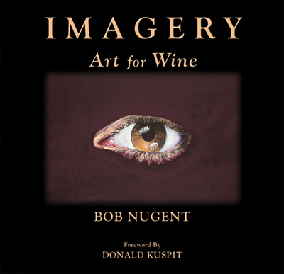 Front cover image for the book Imagery Art for Wine