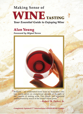 Front cover image for the book Making Sense of Wine Tasting
