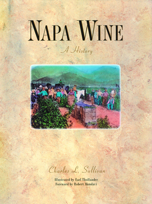 Front cover image for the book Napa Wine A History
