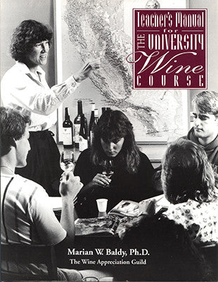 Front cover image for the book University Wine Course Teacher's Manual