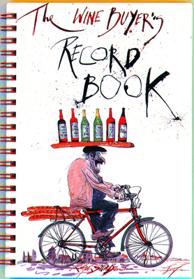 Front cover image for the book Wine Buyer's Record Book