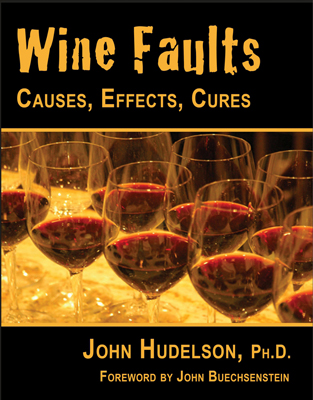 Front cover image for the book Wine Faults Causes Effects Cures