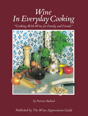 Front cover image for the cookbook Wine in Everyday Cooking