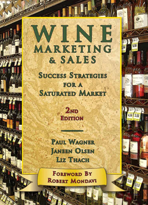 Front cover image for the book Wine Marketing & Sales 2nd Edition