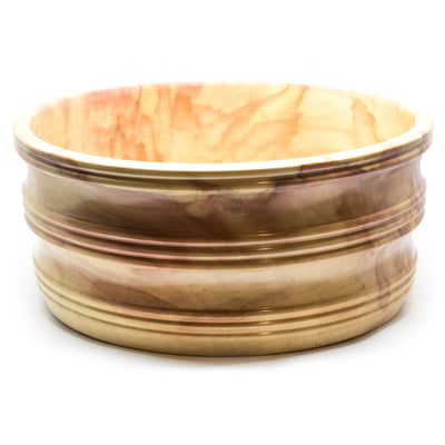 Wood Proper - Flame Box Elder Handcrafted Bowl