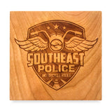 Southeast Police Motorcycle Rodeo - Cherry Wood Coasters