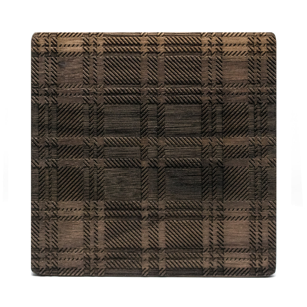 Highland - Walnut Wood Coasters (Set of 4)