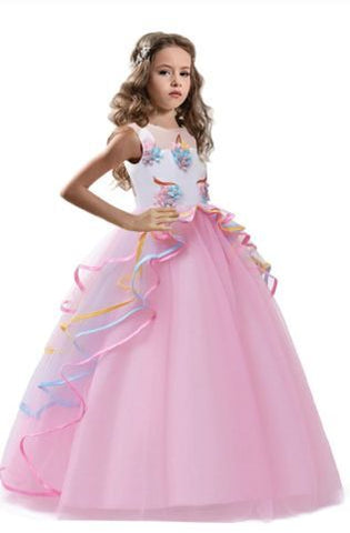 UNICORN BALL GOWN FOR GIRLS - Fabulous Bargains Galore