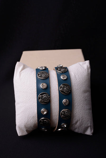 Vintage Inspired Leather Owl Bracelet