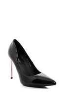 Black Pointed High Heels-Fabulous Bargains Galore