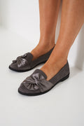 Bow Slip On Flats-Fabulous Bargains Galore