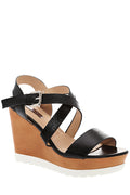 Strappy High Wedge Sandal-Fabulous Bargains Galore