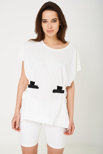 Oversized Top in White