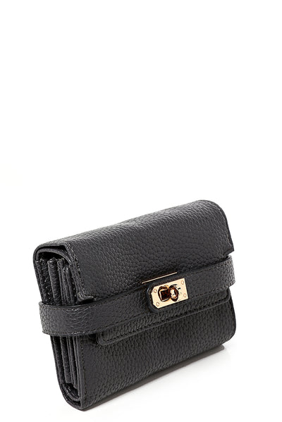 Buckle Detail Mini Purse in Grey-Fabulous Bargains Galore