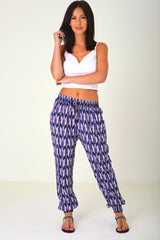 Patterned Leisure Trousers