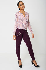 Super Skinny Purple Jeans