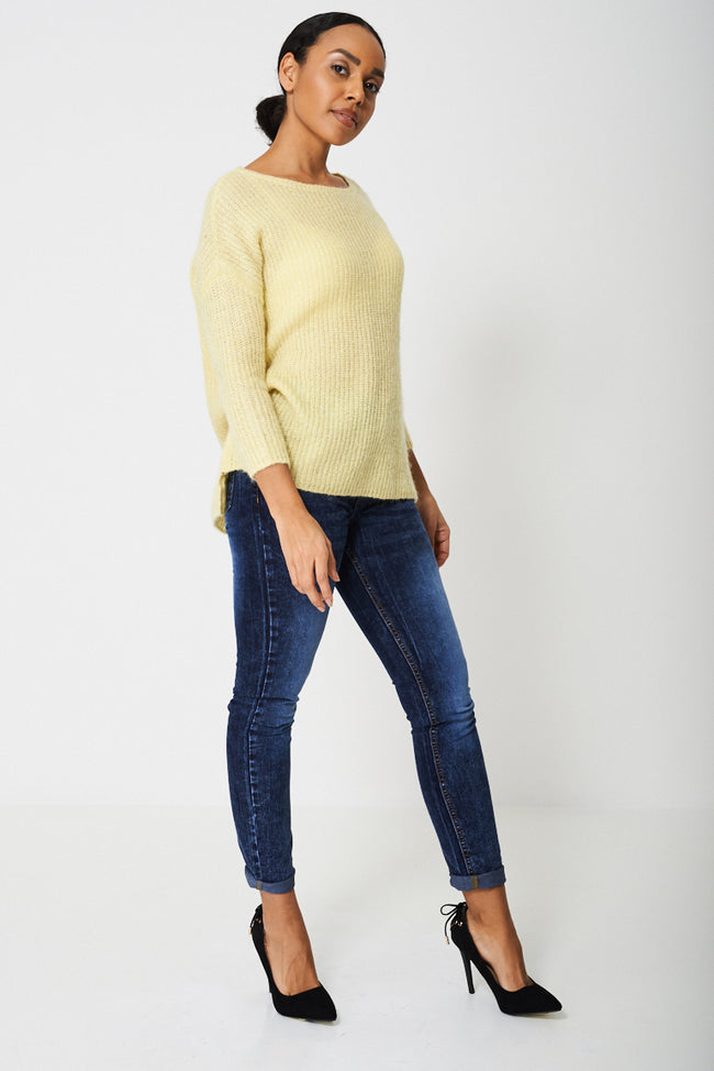 Knitted Mohair-Blend Jumper Ex-Branded-Fabulous Bargains Galore