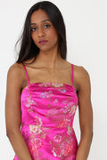 Oriental Royal Pink Dress Ex Brand-Fabulous Bargains Galore