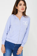BIK BOK Zip Hoodie in Blue-Fabulous Bargains Galore