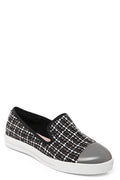 Mirror-Toe Plimsolls in Black-Fabulous Bargains Galore