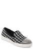 Mirror-Toe Plimsolls in White