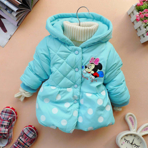Baby girl bubble coat age 3-4 years-Fabulous Bargains Galore