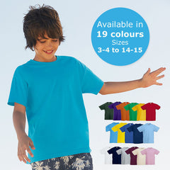 Boys Short Sleeves Plain T shirts