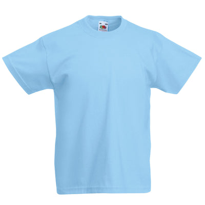 Kids blue t shirt for boys up to 15 years-Fabulous Bargains Galore